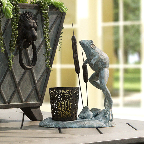 Bombay Outdoors Leaping Frog Votive Candleholder - Indoor / Outdoor