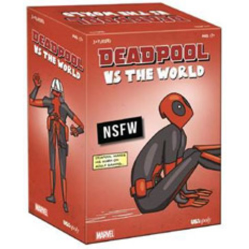 NSFW Deadpool vs. the World Card Game - Only at GameStop