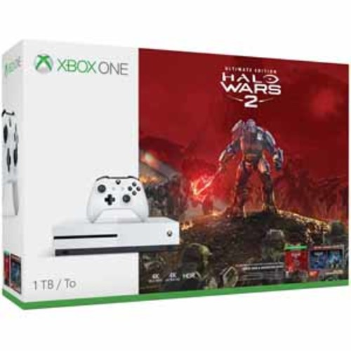Xbox One S 1TB Console Halo Wars 2 Bundle