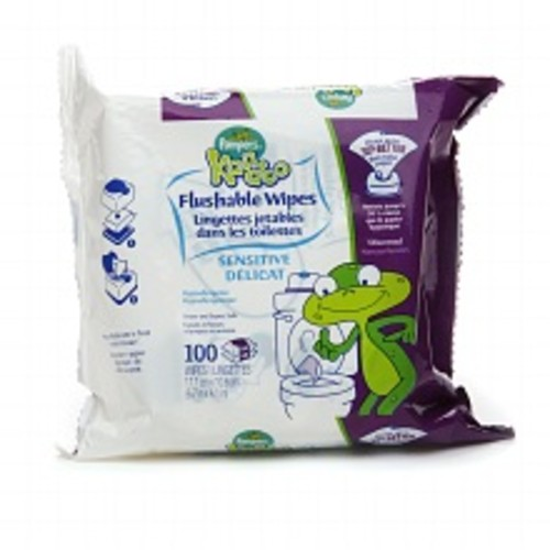 Kandoo Flushable Wipes Unscented