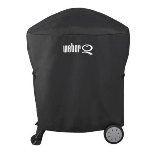 Weber Q 100/1000/200/2000 with Rolling Cart Gas Grill Cover