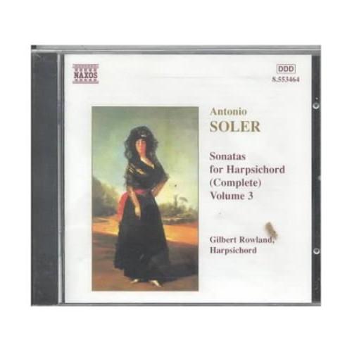 Vol. 3-Sonatas For Harpsichord