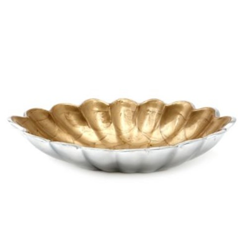 Julia Knight Peony 8-Inch Oval Bowl in Toffee