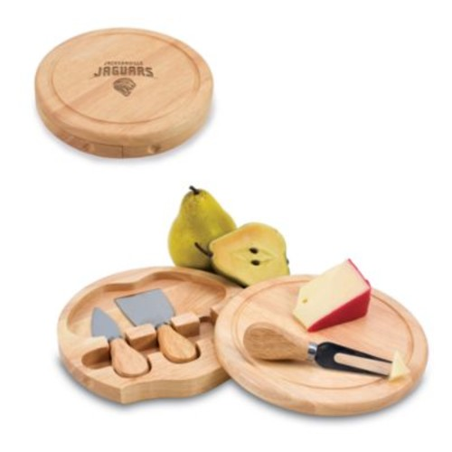 Picnic Time Jacksonville Jaguars Brie Cheese Board Set