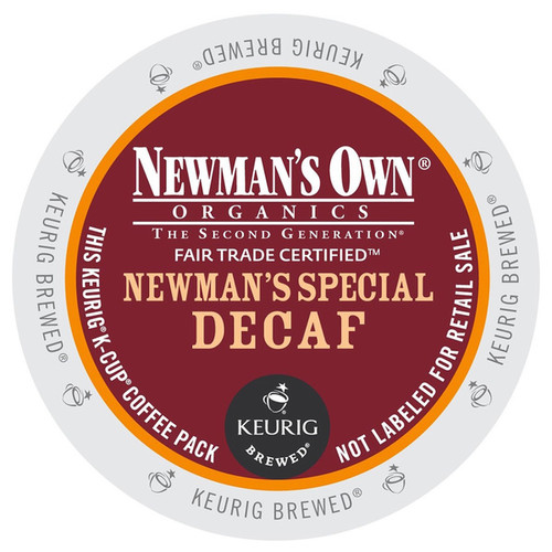 man's Own Special Decaf Coffee K-Cups for Keurig Brewers