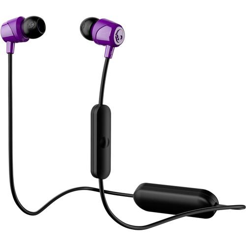 Skullcandy - Jib Wireless In-Ear Headphones - Black/purple