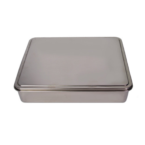YBM Home Stainless Steel Covered Cake Pan