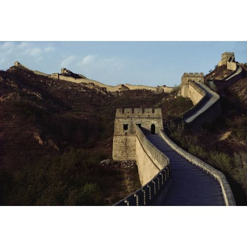 National Geographic Great Wall Mural