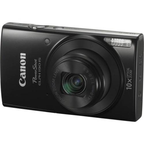 Canon PowerShot 190 IS 20 Megapixel Compact Camera - Black
