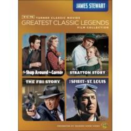 TCM Greatest Classic Legends Film Collection: James Stewart [4 Discs] [DVD]