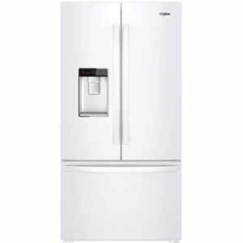 Whirlpool 36-inch Wide Counter Depth French Door Refrigerator - White