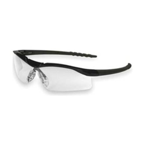 Crews DL110 Safety Glasses, Clear, Scratch-Resistant