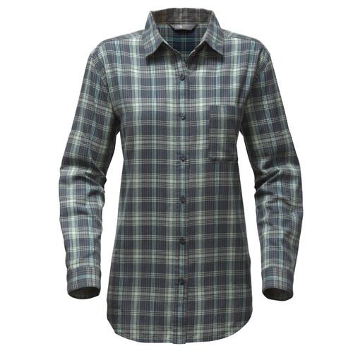 THE NORTH FACE Womens Long-Sleeve Boyfriend Shirt