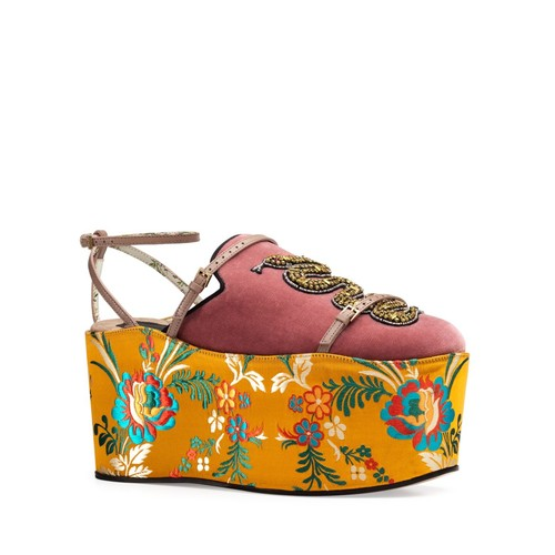 GUCCI Elaisa 3-In-1 Platform Shoes