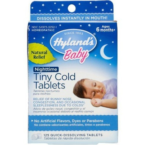 Hyland's Baby Night time Tiny Cold Tablets [Night time]