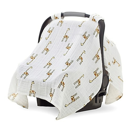 aden by aden + anais Car Seat Canopy in Jungle Jam