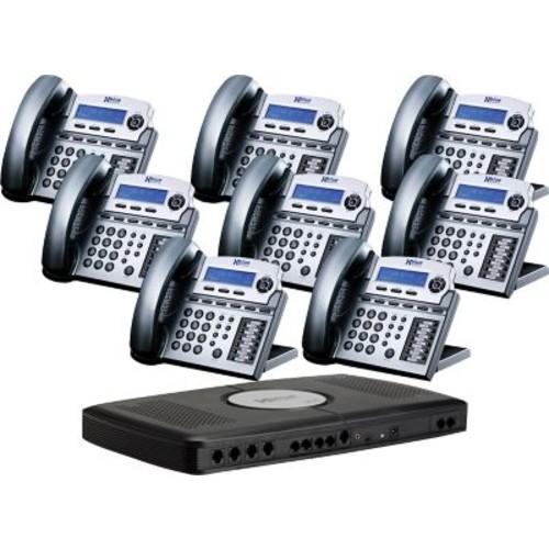 XBlue X16 Small Office Telephone System, 8pk