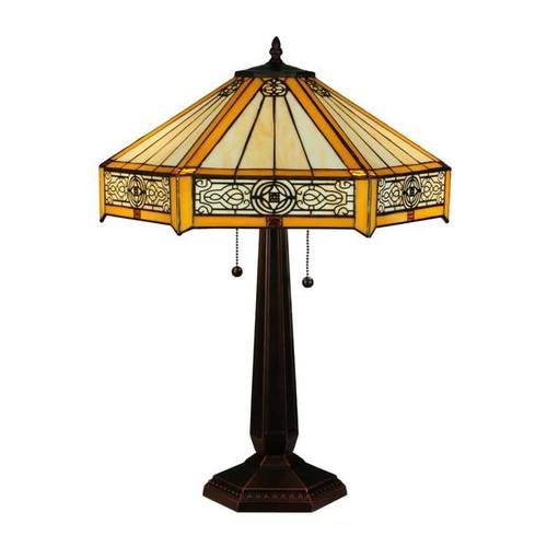 24.5-inch Peaches Table Lamp