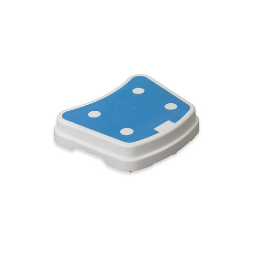 Drive Medical Portable Bath Step, White and Blue