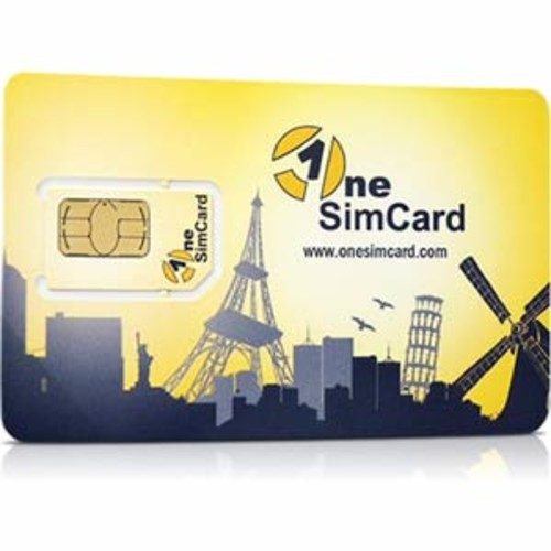 One SIM Card World Triple SIM