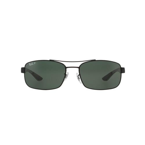 Ray-Ban RB8316 CARBON FIBRE 62 Green & Black Polarized Sunglasses