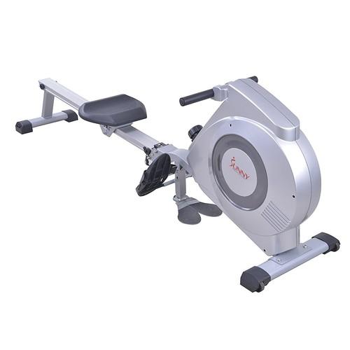 Sunny Health & Fitness SF-RW5612 Dual Function Rowing Machine Rower w/ LCD Monitor