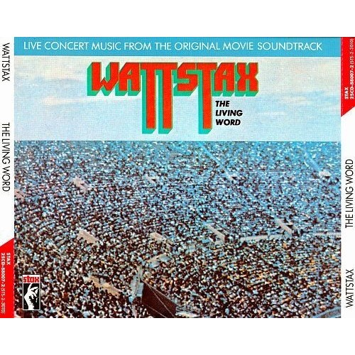 Wattstax: The Living Word (Concert Music from the Original Movie Soundtrack) [CD]