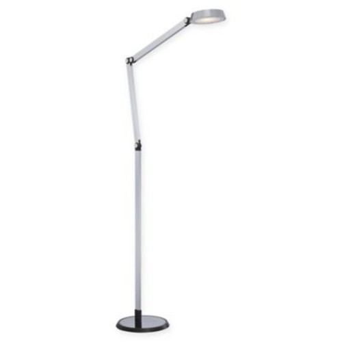 George Kovacs LED Adjustable Floor Lamp in Chrome