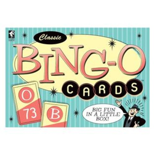 US Games Systems Bing-o-Cards Classic Game