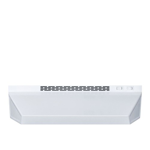 Summit Appliance 24 in. Convertible Range Hood in White