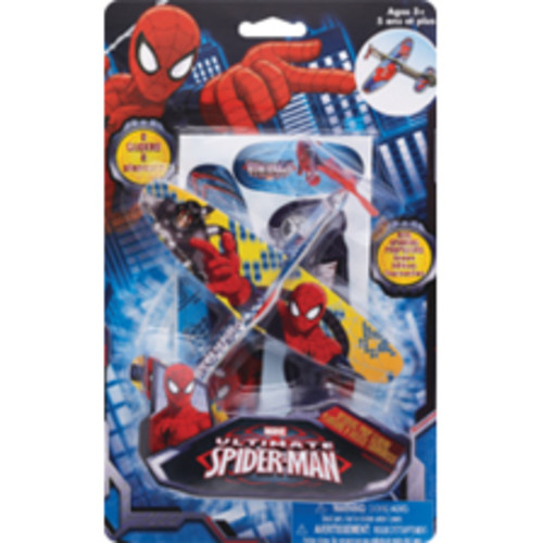 Marvel Spinning Pop Gliders, Assorted Styles
