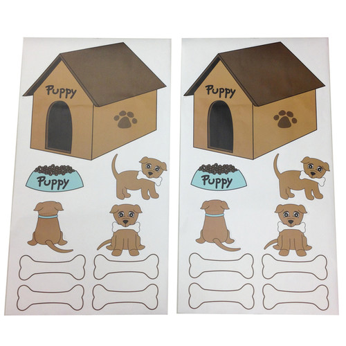 One Grace Place Puppy Pal Wall Decals