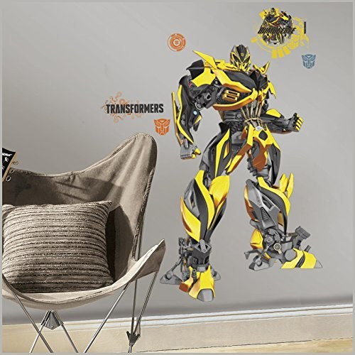 Transformers: Age of Extinction Bumblebee Giant Wall Decals [Multi-Colored]