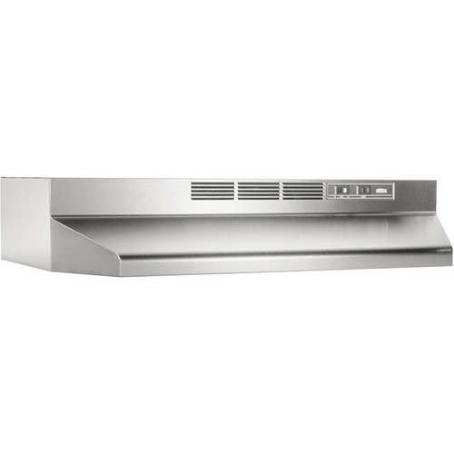 Broan NuTone Stainless Steel Non-ducted Range Hood 413004