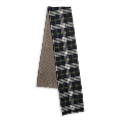 GUCCI Sambi Reversible Wool Scarf