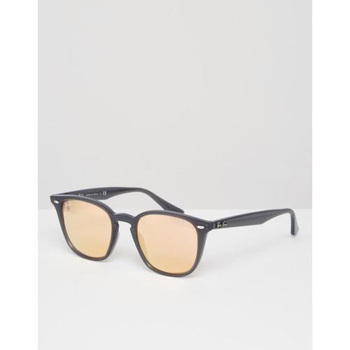 Ray-Ban Wayfarer Sunglasses With Flash Lens 0RB4258