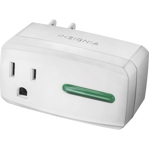 Insignia - Wi-Fi Smart Plug - White