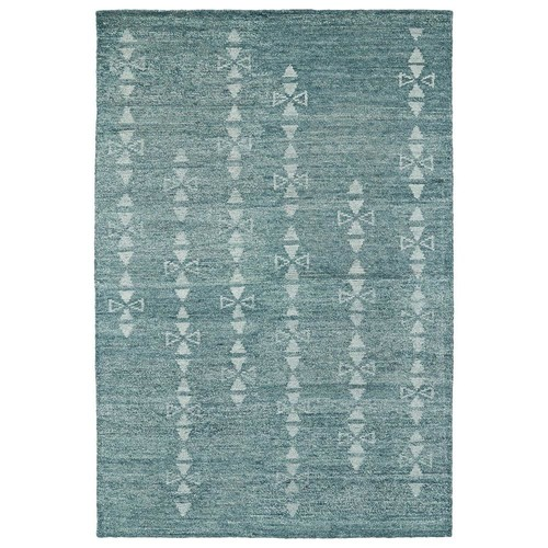 Kaleen Solitaire Ice 10 ft. x 13 ft. Area Rug