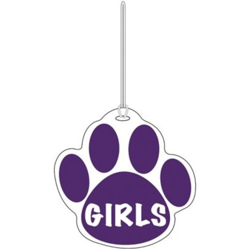 Ashley Girls Paw Hall Pass