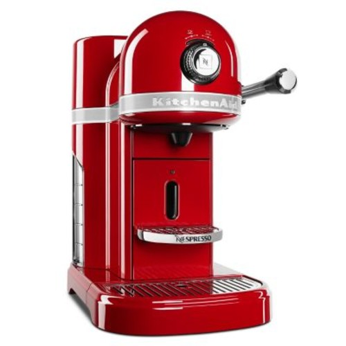 Nespresso by KitchenAid KES0503ER Empire Red Espresso Machine
