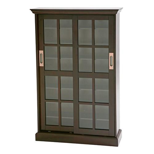 Sliding Door Media Cabinet