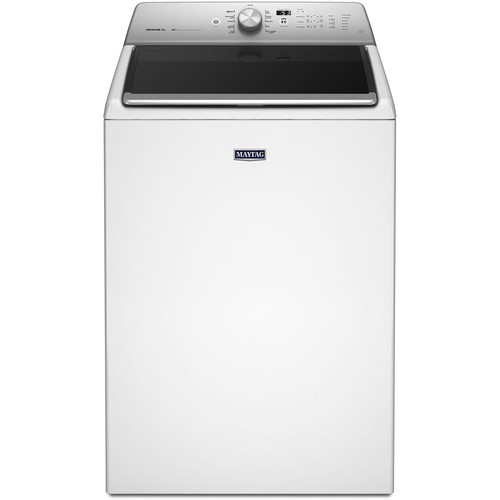 Maytag 5.3 cu. ft. High-Efficiency Top Load Washer in White, ENERGY STAR