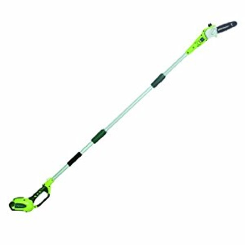 GreenWorks 20672 G-MAX 40V 8-Inch Cordless Pole Saw, 2Ah Battery and Charger Included [Includes G-MAX 40V 2amp Battery + Charger]