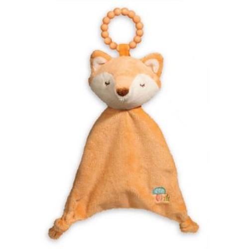 Fox Lil' Sshlumpie Teether Blankie