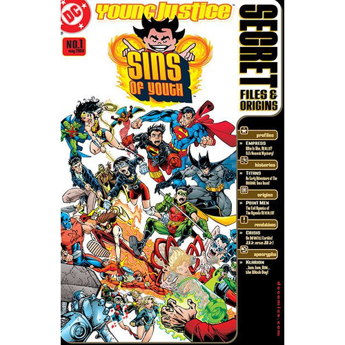 Young Justice: Sins of Youth Secret Files (2000-) #1