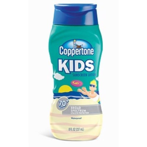 Coppertone Kids Sunscreen Lotion SPF 70+ 8 oz (Pack of 2)