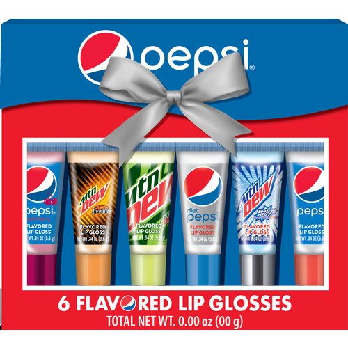 Pepsi Lip Gloss Set, 6 pk