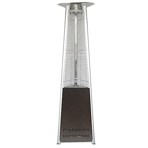 Hanover Triangle Propane Patio Heater in Hammered Bronze