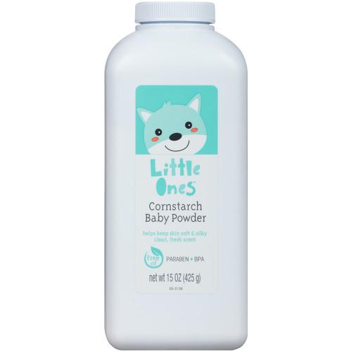 Little Ones Cornstarch Baby Powder 15 oz
