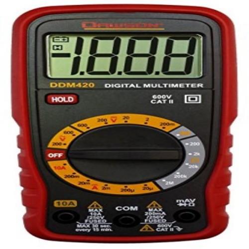 Dawson DDM420 Compact Digital Multimeter